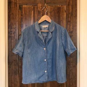 Madewell Denim PJ Shirt XL